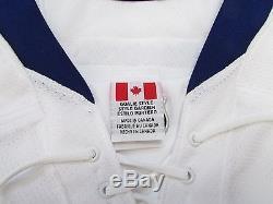 Toronto Maple Leafs Team Issued Away Reebok Edge 2.0 7287 Jersey Goalie Cut 60