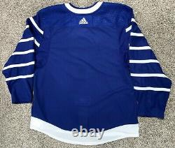 Toronto T Arenas Maple Leafs Game Issued Adidas MiC Josh Leivo Stripped Jersey