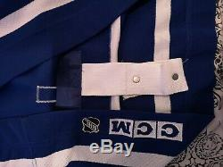 Toronto maple leafs Mats sundin autographed game grade CCM Jersey playoff patch