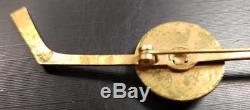 Turk Broda 1949-1951 Bee Hive Toronto Maple Leafs PIN