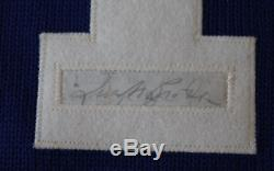 Turk Broda signed autographed Toronto Maple Leafs jersey! Guaranteed Authentic