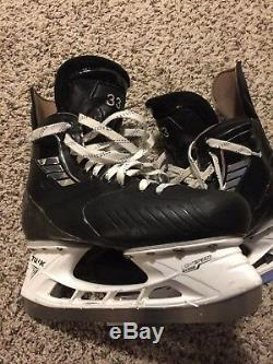 VH Pro Stock Ice Hockey Skates, Size 11, Gauthier, Toronto Maple Leafs/Marlies