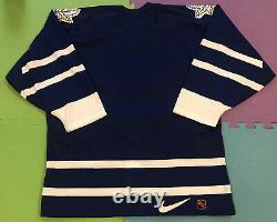 Vintage Nike Authentic NHL Center Ice Toronto Maple Leafs Jersey 48 M NWOT Rare