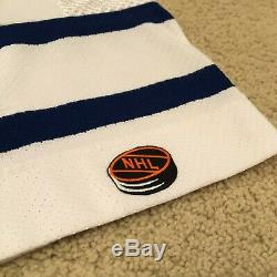 Vintage Signed Curtis Joseph Toronto Maple Leafs Hockey Jersey Large White COA