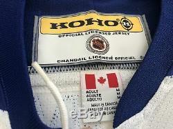 Vintage Toronto Maple Leafs Tie Domi Koho Hockey Jersey, Size Medium