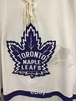 Vintage Toronto Maple Leafs Wendel Clark CCM NHL Hockey Jersey White Sz XL