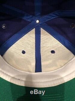 Vtg Sports Specialties Toronto Maple Leafs Script Sample Hat Wool Blue