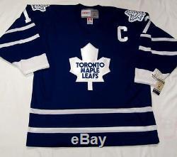 WENDEL CLARK size LARGE Toronto Maple Leafs CCM 550 1992-1997 Hockey Jersey