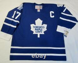 WENDEL CLARK size XL Toronto Maple Leafs CCM 550 1992-1997 Hockey Jersey