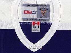 WENDEL CLARK size XL Toronto Maple Leafs CCM 550 VINTAGE series Hockey Jersey